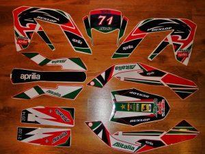 Kit DÉco Aprilia Rx 50 Apres 2006 Alitalie