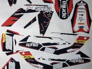 Kit DÉco Aprilia Rx 50 Apres 2006 Factory Red