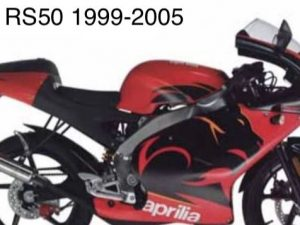Kit Déco Aprilia Rs 50 1999 2005 – Diablo Red