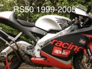 Kit Déco Aprilia Rs 50 1999 2005 – Noir