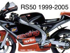 Kit Déco Aprilia Rs 50 1999 2005 – Noir Rouge