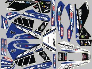 Fox Alternative 2 Kit Deco Yamaha Dt Dtr Dtx