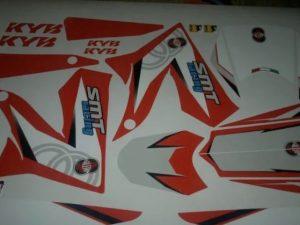 Gilera Origine Red Kit déco Gilera SMT RCR