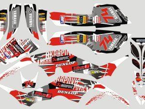 Kit Deco Raptor 350 Red