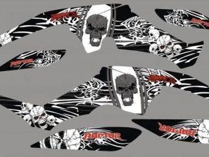 Kit Deco Raptor 350 Skull