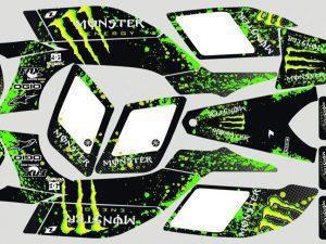 Kit Deco Raptor 450 Monster 2