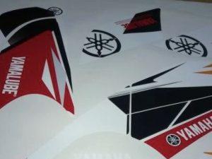 Kit Deco Raptor 660 Factory Red