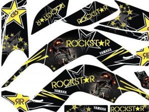 Kit Deco Raptor 660 Rockstar