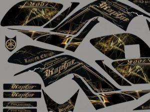 Kit Deco Raptor 700 Black