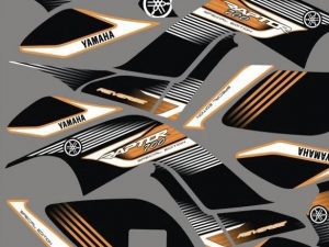 Kit Deco Raptor 700 Orange