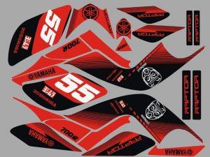 Kit Deco Raptor 700 Red
