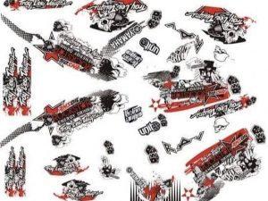 Kit Deco Raptor 700 Rockstar
