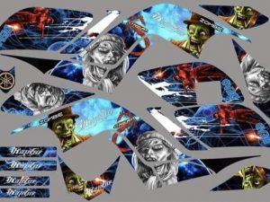 Kit Deco Raptor 700 Sky Blue