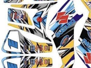 Kit Deco Suzuki Ltz 400 Factory