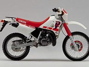 Kit Deco Yamaha Dtx Dtr Dt 125 Avant 2003 Origine rouge