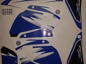 Origine Blue Kit Deco Yamaha Dt Dtr Dtx
