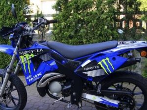 Rieju 50 Mrx Monster Blue