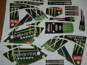 Rieju 50 Mrx Monster Green
