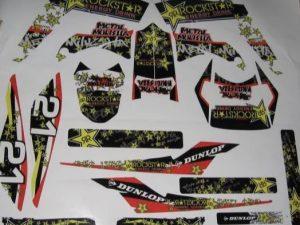 Rockstar Gilera Kit déco Gilera SMT RCR