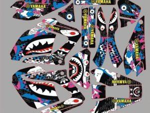 Shark Kit Deco Yamaha Dt Dtr Dtx