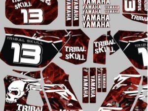 Tribal Kit Deco Yamaha Dt Dtr Dtx