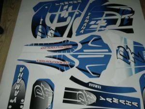 Yamaha Dt 50 Avant 2002 Blue Origine