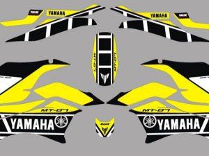 Yamaha Mt07 Factory Yellow