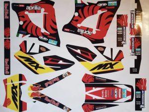 Kit DÉco Aprilia Mx 125 Lion #2