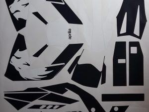 Kit DÉco Aprilia Sx 125 B&w