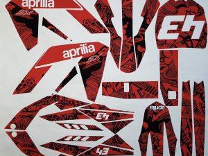 Kit DÉco Aprilia Sx 125 Full Red
