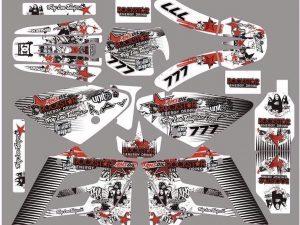 Kit DÉco Gas Gas Ec 2002 2006 Rockstar Red