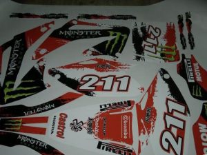Kit DÉco Honda Cr 125 2006 Monster