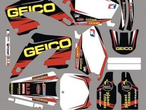 Kit DÉco Honda Cr 125 250 2000 2001 Geico