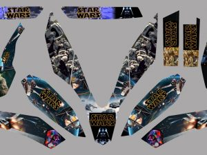 Kit DÉco Ktm 690 Smc 2010 Star Wars
