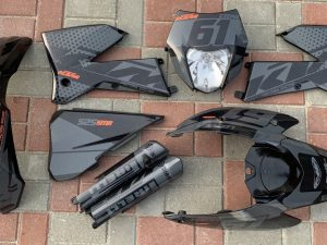 Kit DÉco Ktm Exc 2004 2007 Black