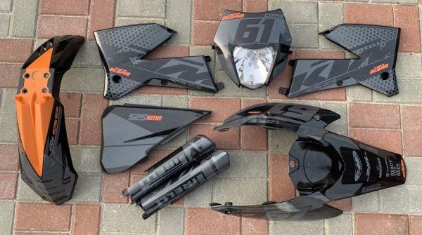 Kit DÉco Ktm Exc 2004 2007 Black