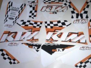 Kit DÉco Ktm Sx 2003 2004