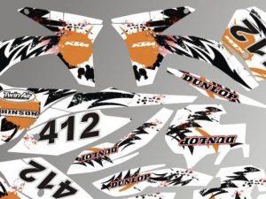 Kit DÉco Ktm Sx Sxf 2011 2012 #3