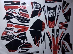 Kit DÉco Suzuki Drz 400 Red Prime
