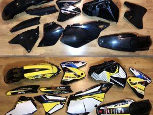 Kit DÉco Suzuki Drz 400 Yellow Blue #3