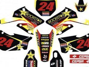 Kit DÉco Suzuki Rmz 250 2004 2006 Rockstar