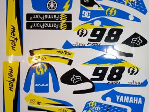 Kit DÉco Yamaha Ttr 125