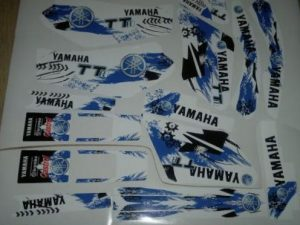 Kit DÉco Yamaha Ttr 250 2004 Magic