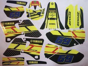 Kit DÉco Yamaha Wr 250 400 426 F 1998 2002 (non Fluo, Fluo En Option)