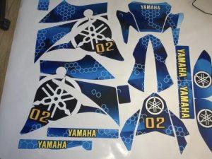 Kit DÉco Yamaha Xt 660 Avant 2006 B