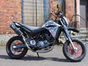Kit DÉco Yamaha Xt 660 Avant 2006 B&w