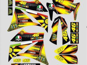 Kit DÉco Yamaha Xt 660 Avant 2006 The Doctor
