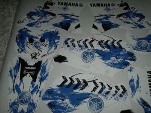Kit DÉco Yamaha Yz 125 250 2002 2012 Magic