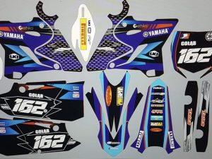 Kit DÉco Yamaha Yz 125 250 2015 2016 Bleu