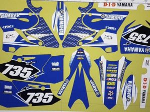 Kit DÉco Yamaha Yz 125 250 2015 2016 Origine 2